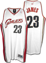 Lebron James Home White Jersey