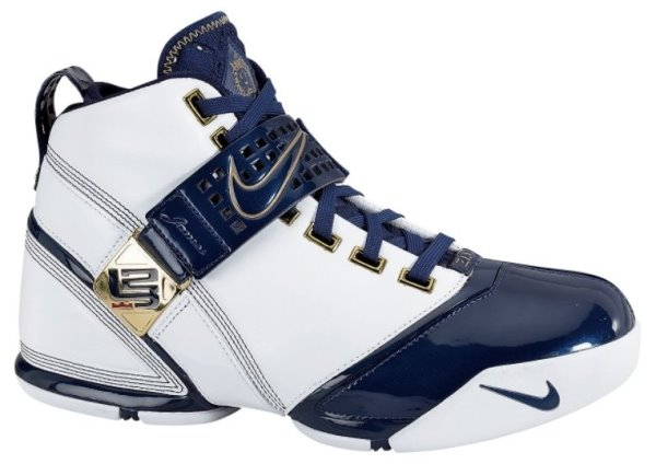 Lebron James Basketball Shoes: Nike Lebron V (5) - 2007-2008 Signature